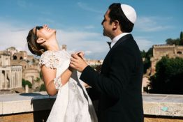 A wonderful Jewish wedding in Rome to Remember!